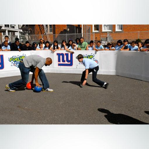 Gaga Ball Pit at the Super Bowl.