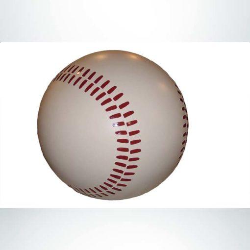 Model #PR-BBB36. Concrete baseball bollard.