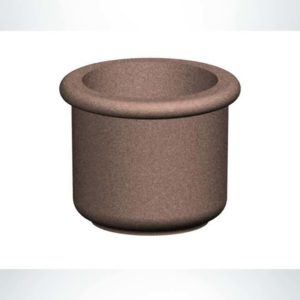 Model #PRF30x24. Round Concrete Planter.