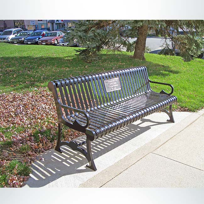 Memorial Benches Keeper Goals Site Furnishings