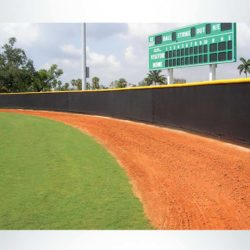 Quickfit Windscreen for Baseball Stadium.