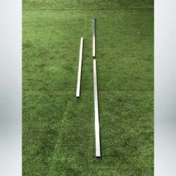 "Model #SGESPLICE1. Spliced Crossbar for 2"" Square Crossbar for Soccer Goal. Makes Transport and Storage Easier."