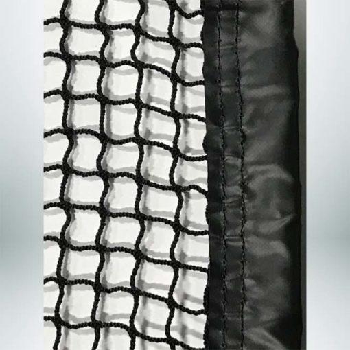 7.8 Mesh golf net with tape border.