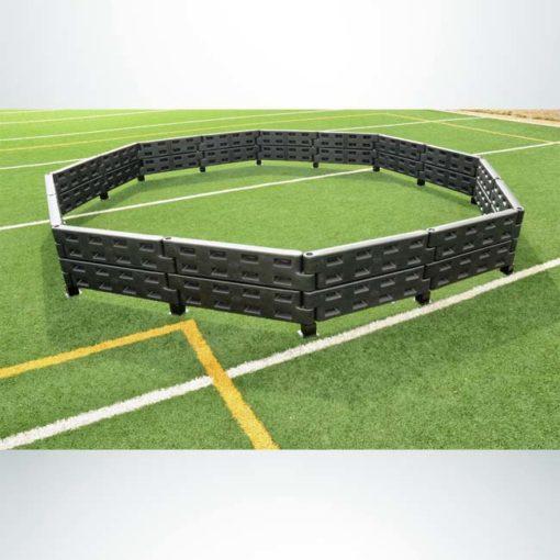 Model #APSGAGA20. Black 20 foot economy gaga pit.