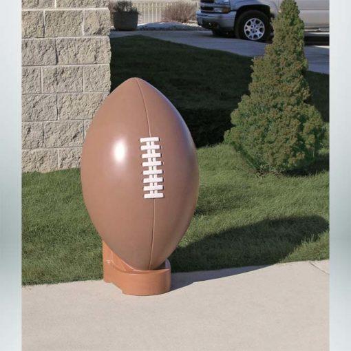 Model #PR-FBB. Concrete football bollard.