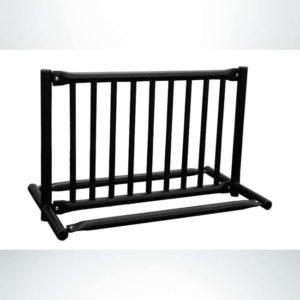 Model #PPS997205099. Black Double Sided Gate Style 8 Bikes Bike Rack.