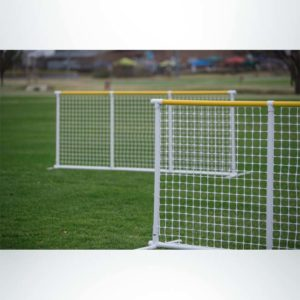 Signature Fence outfield portable fencing.