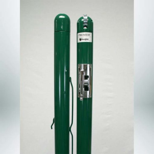 Model #DOUGPB63070. Premier RD-36 pickleball/QS tennis posts. Available in green and black.