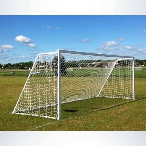Model #M83824. 8'x24' M-Series movable soccer goal.