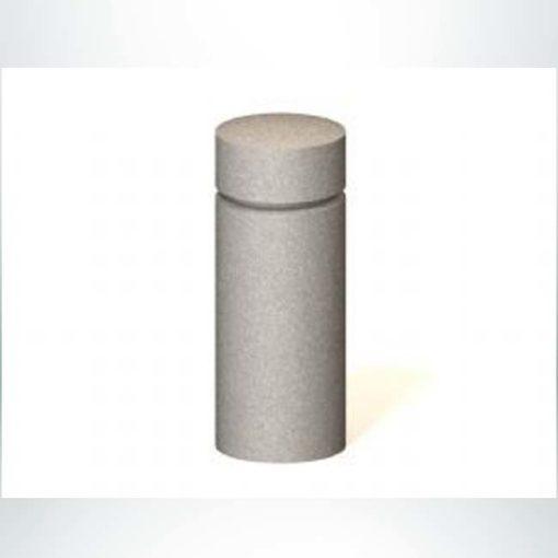 """Model PRAL1. 12"""" x 30"""" concrete bollard."""