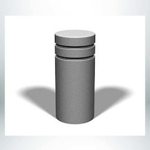 "Model #PRB12. 21"" x 40"" concrete bollard."