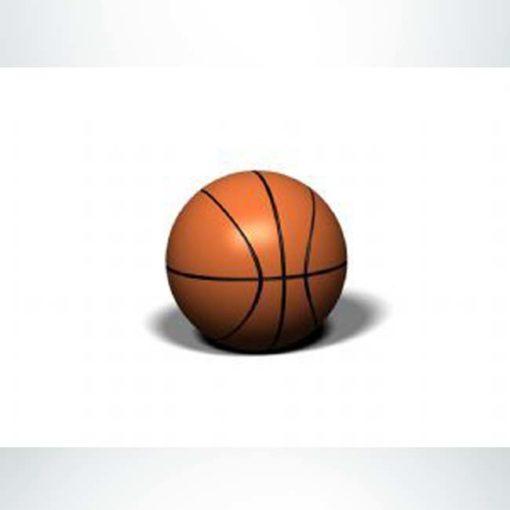 """Model #PRBKT. 36"""" diameter basketball bollard."""