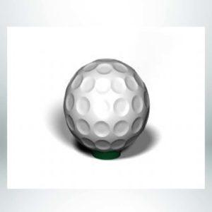 "Model #PRGOLFB30. 36"" Diameter Golf Bollard."