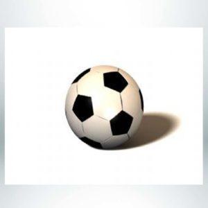 "Model #PRSCB. 36"" Diameter Soccer Bollard."