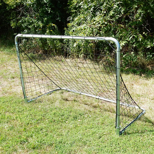 Model #KGSTRD464. Budget steel 4' x 6' soccer goals. Ideal for small sided games, training and youth soccer.