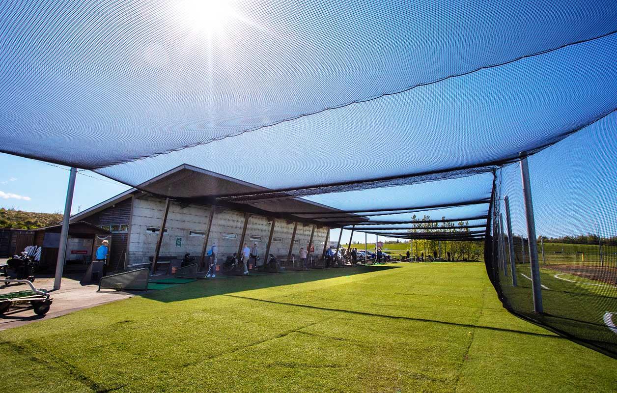Icelandic Golf Cage