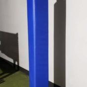 Custom Post Padding at Indoor Soccer Facility.