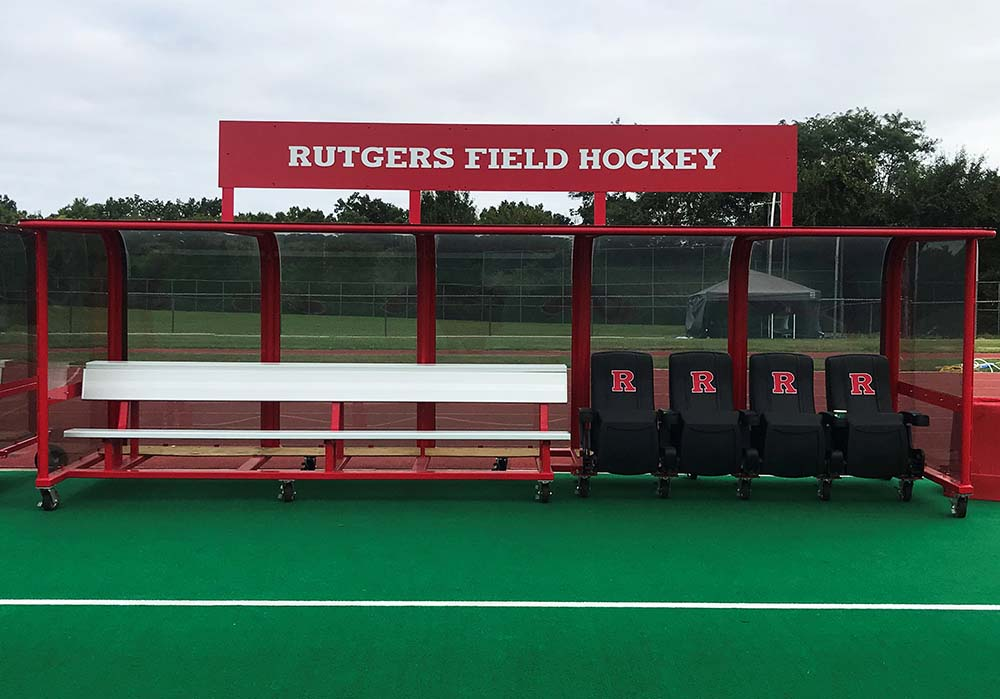 Rutgers University Field Hockey Shelters