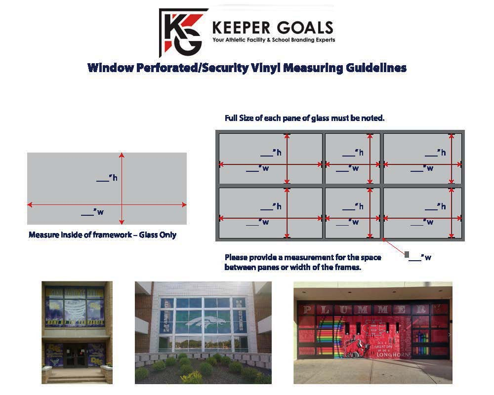Measurement Guidelines for Perforated Window Film