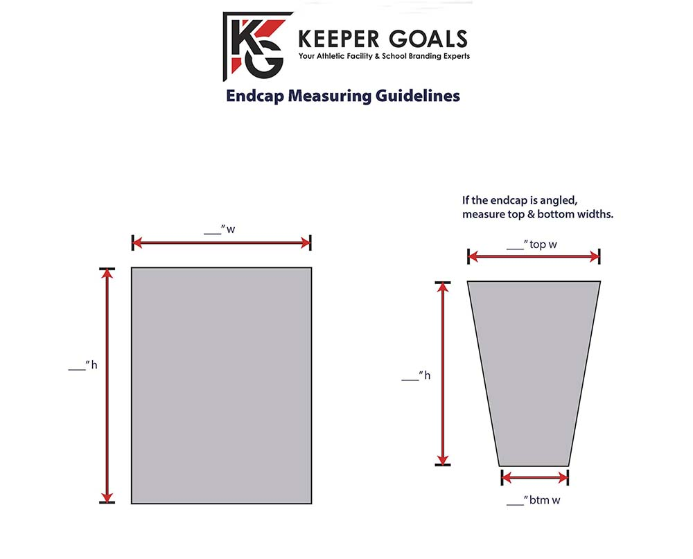Measurement Guidelines for Locker Endcaps
