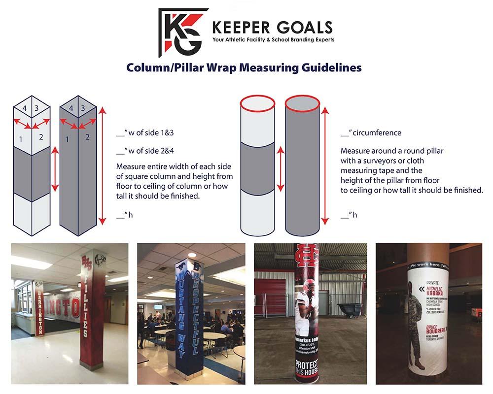Measurement Guidelines for Pillar/Column Wraps