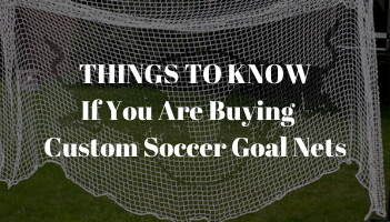 Things to know if you are buying soccer goals blog post.