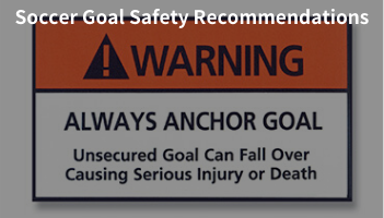 Soccer Goal Safety Recommendations blog post.