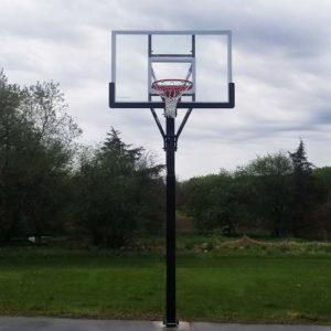 Model #ALLAMERINGL. Goalsetter All American basketball hoop.