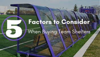 Five Factors to Consider When Buying Team Shelters Blog Post.