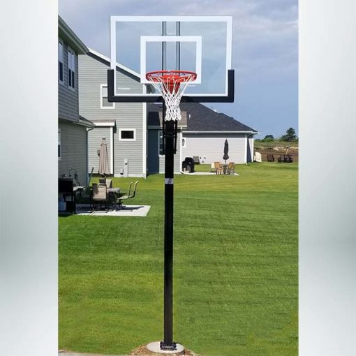 Model #X448. Goalsetter Extreme Series basketball hoop for a driveway.