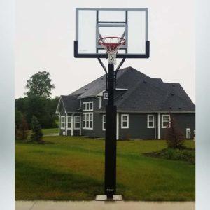 Model #X554. Goalsetter Extreme Series backyard or driveway basketball hoop.