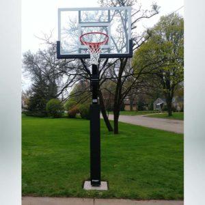 Model #X554. Goalsetter Extreme Series basketball hoop.