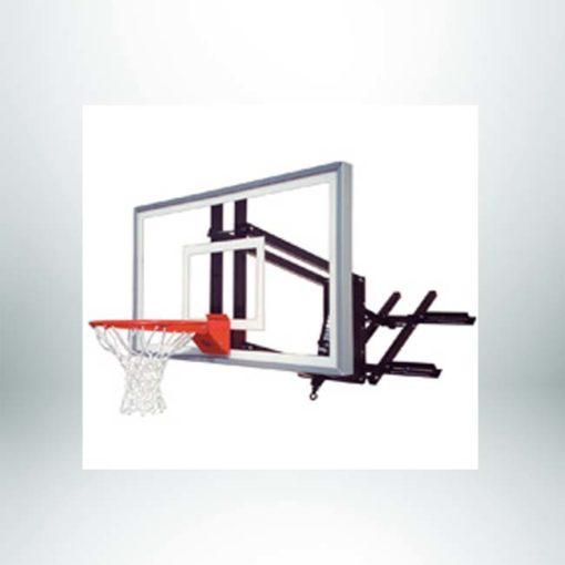 Roofmaster Nitro wall mount basketball hoop.