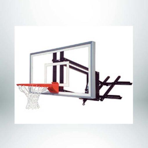 Roofmaster Select wall mount basketball hoop.