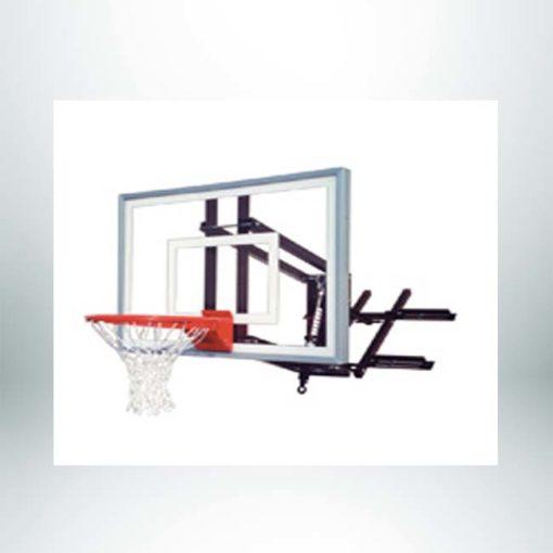 Roofmaster Turbo wall mount basketball hoop.