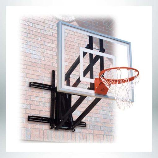 Roofmaster wall mount basketball hoop.