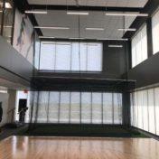 Custom golf, baseball, softball cage at rehab facility.