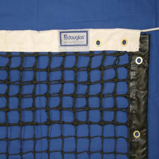 Model #TN30DM. Double mesh Douglas tennis net.