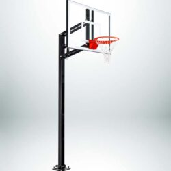 Model #ELITEPLUS. Goalsetter Elite Plus inground basketball system.
