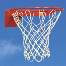 Model #BA29JR. Bison Flex basketball goal for residential use.
