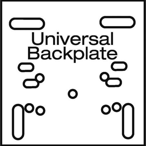Model #BA32. Universal backplate for the Bison Heavy-duty Recreational basketball goal.