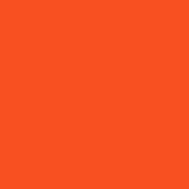 Bright orange color option for aluminum foul poles.