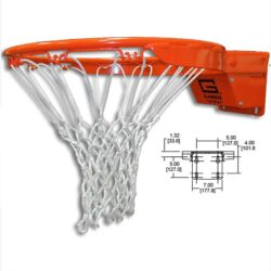 Model #GARED2000. Collegiate Premium breakaway rim.