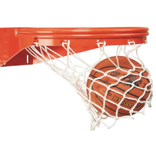 Model #KGBA39U. Bison basketball rim with lifetime warranty.