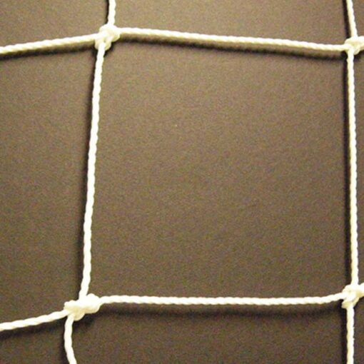 3mm white futsal net.