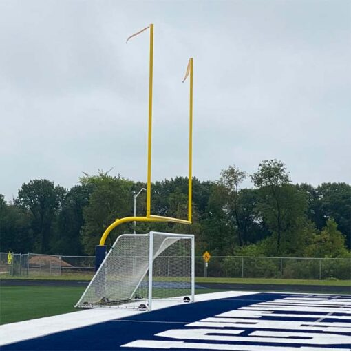 Model #M88WRD4824. No backbar. Football goalposts with pad.