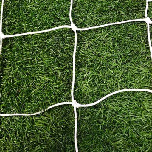 Model #NP530. 3mm braid white soccer net.