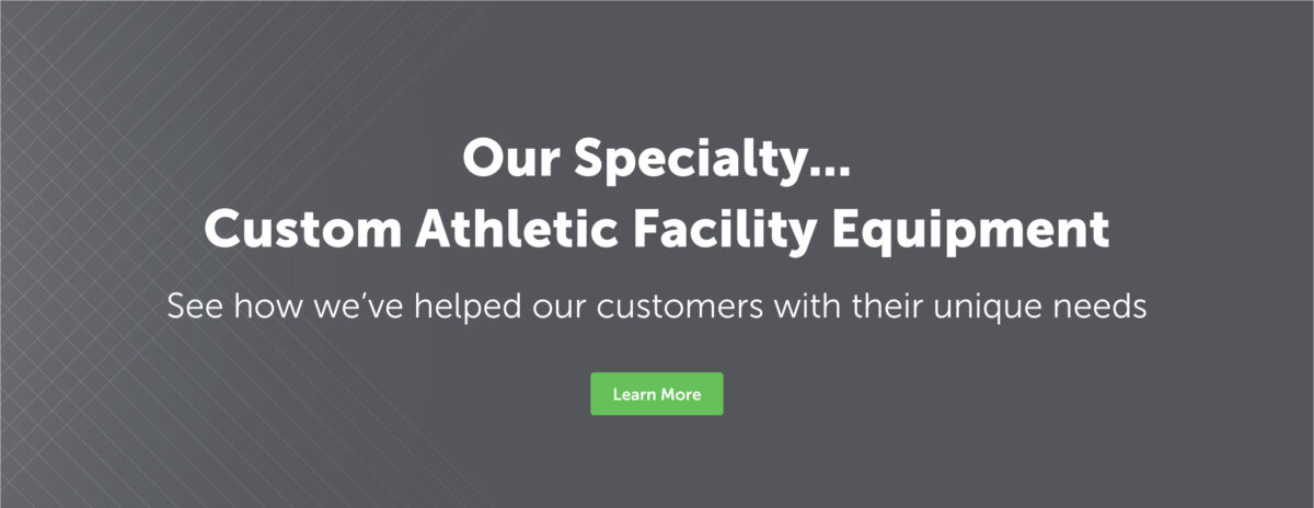 Keeper Goals custom athletic facility equipment.