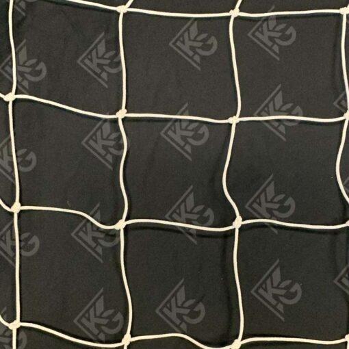 Model #530410BRPE. White mesh soccer net.